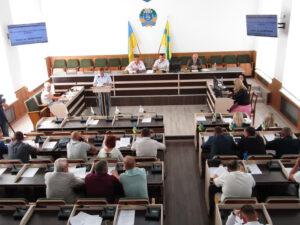 Відбулось пленарне засідання позачергової сесії районної ради