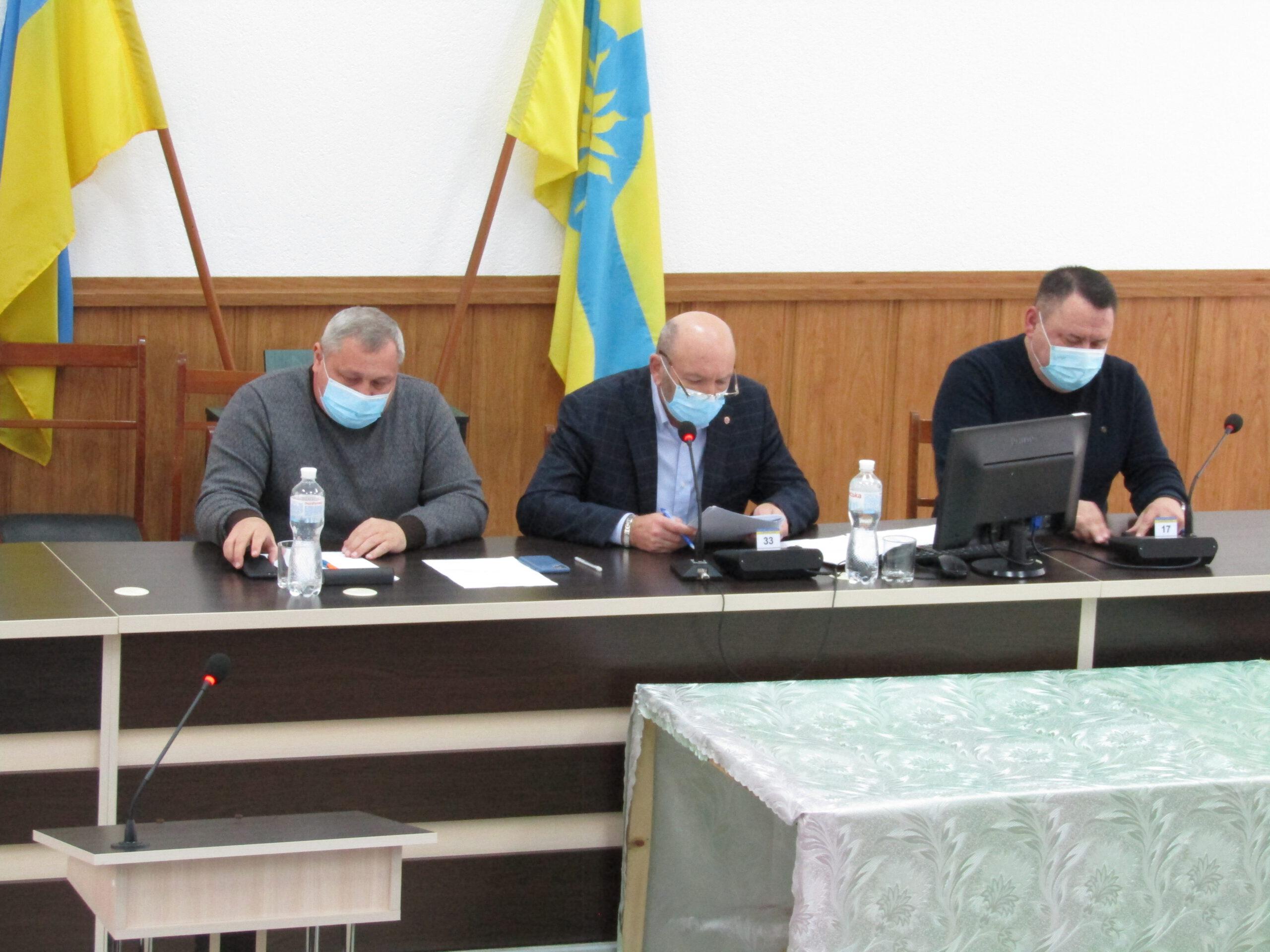 Відбулося друге пленарне засідання першої сесії районної ради VIII скликання